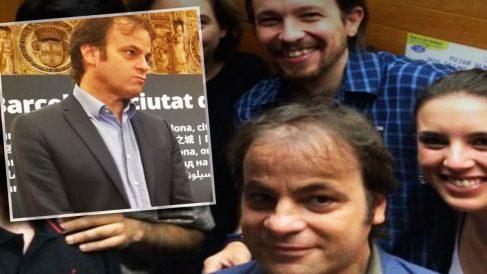 El teniente de alcalde de Barcelona y responsable de Derechos Humanos de Podemos Jaume Asens.