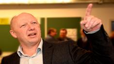 El alcalde de Vilvoorde, Hans Bonte