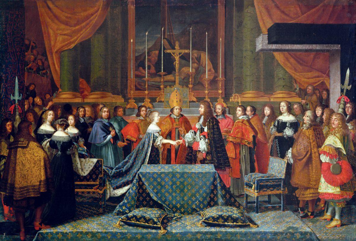 Luis XIV fue el primogénito y sucesor de Luis XIII y de Ana de Austria.
