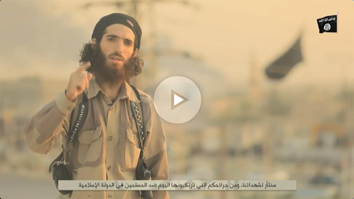 Muhammad Yasin Ahram Pérez, el terrorista del ISIS que protagoniza la amenaza a España.