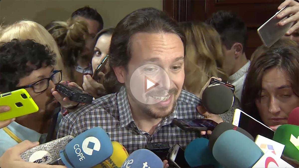 Pablo Iglesias, líder de Podemos, confunde el wahabismo saudí con la salsa wasabi.