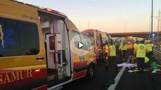 Efectivos del SAMUR (Emergencias Madrid)
