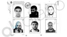 Arriba, a la derecha, Mohammed Mrabet Fahsi (jefe de la célula yihadista de Vilanova). Justo debajo, el imán Es Satty, en una imagen de 2005.