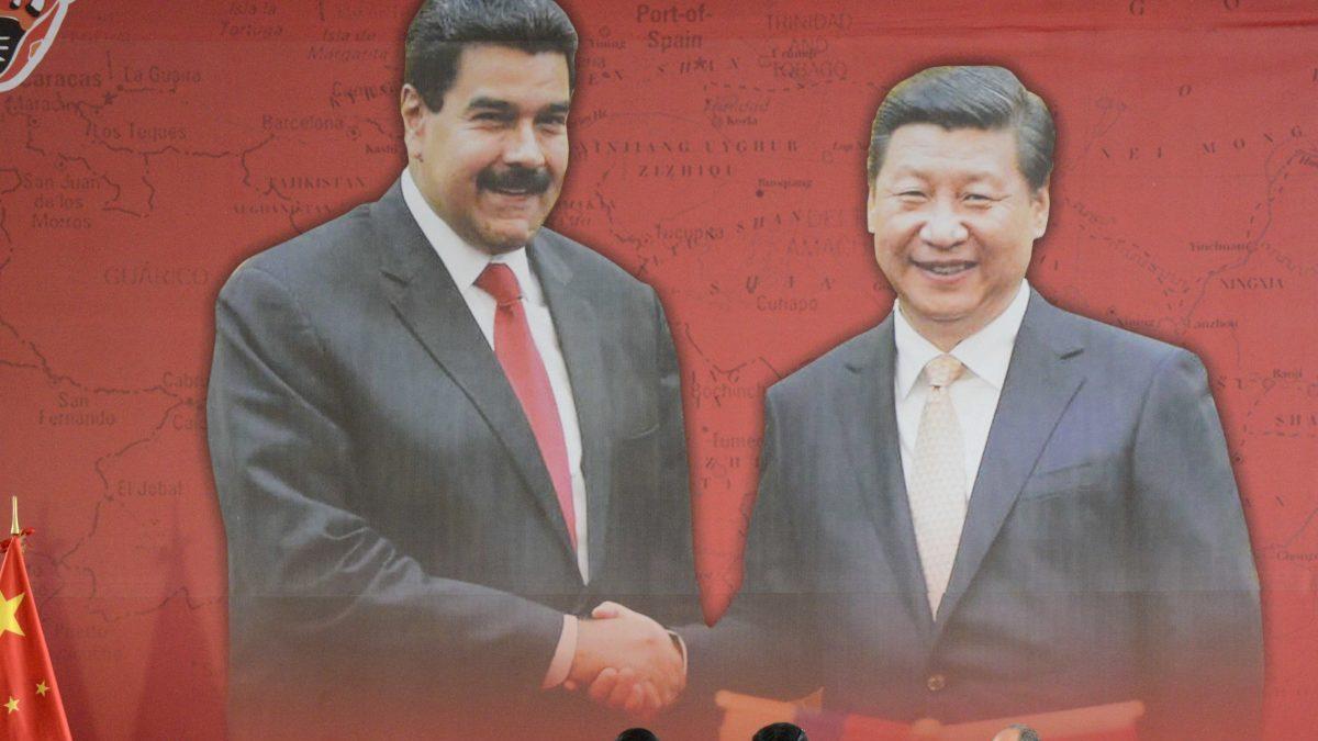 Xi Jinping, presidente de China y Nicolás Maduro, presidente de Venezuela (Foto. Getty)