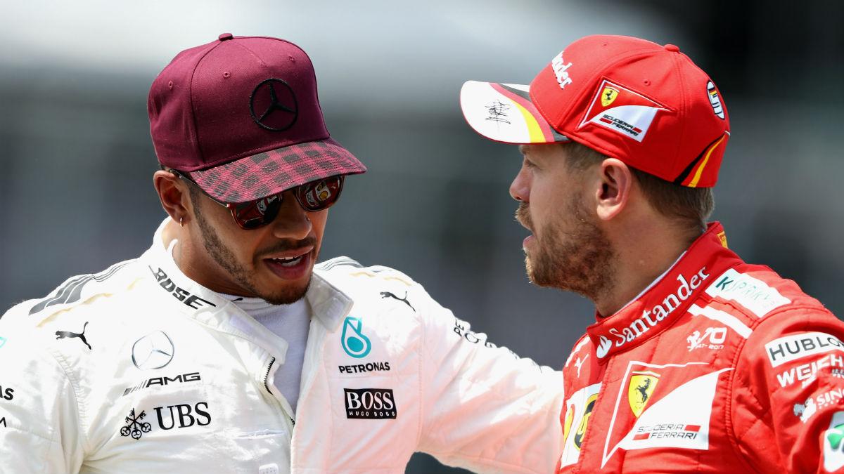 Lewis Hamilton ha atacado a Sebastian Vettel asegurando que el germano jamás querría ser su compañero de equipo. (Getty)