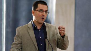 Jorge Arreaza, ministro de Exteriores de Venezuela.