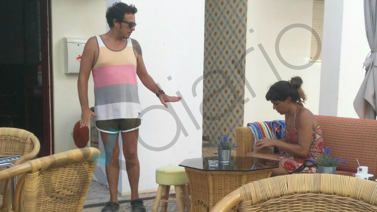 'Kichi' y Teresa Rodriguez de vacaciones en el Algarve.