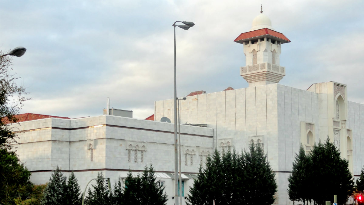 Centro Cultural Islámico de Madrid, conocido como mezquita de la M-30.