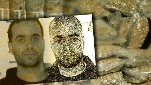 Dos imágenes del imán de Ripoll Abdelbaki Es Satty: la actual y la tomada en 2005.