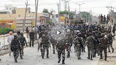 El ejército se despliega en India (Foto: AFP)