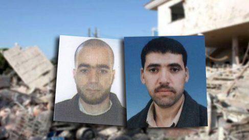 El imán de Ripoll Abdelbaki Es Satty (en una imagen de 2005) y el terrorista suicida Belgacem Bellil.