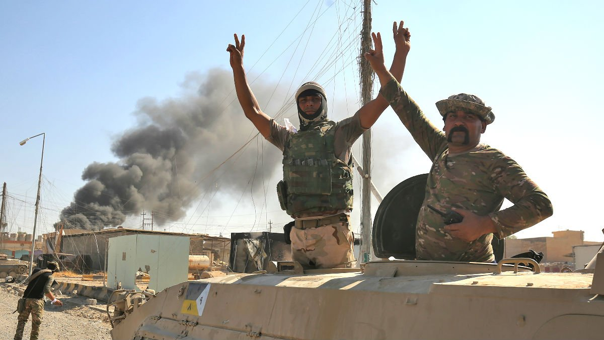 Soldados de Irak en Tal Afar (Foto: AFP).