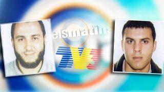El jefe de la célula yihadista de Vilanova, Mohamed Mrabet Fahsi, y su hermano Mounir, participante en el debate de TV3.