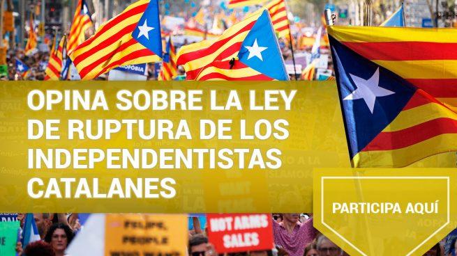 Opina sobre la ley de ruptura de los independentistas catalanes