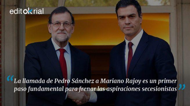 La unión de Rajoy y Sánchez hace la fuerza