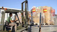Un miembro de las Fuerzas Armadas españolas, en una de las misiones del Ejército en el exterior. (Ministerio Defensa)