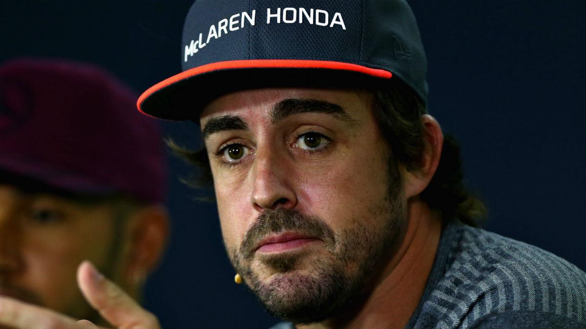La falta de confianza de Fernando Alonso en Honda es lo que hace que el piloto no renueve su contrato con McLaren. (Getty)