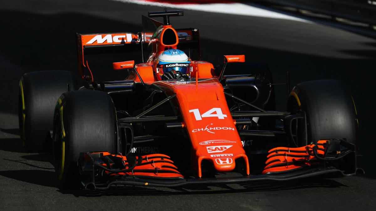 Desde Honda aseguran que al motor de Fernando Alonso no le pasaba nada en el GP de Bélgica, a pesar de que el piloto se retirase argumentando problemas en el mismo. (Getty)
