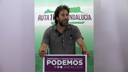 Jesús Rodriguez, secretario político de Podemos Andalucía.