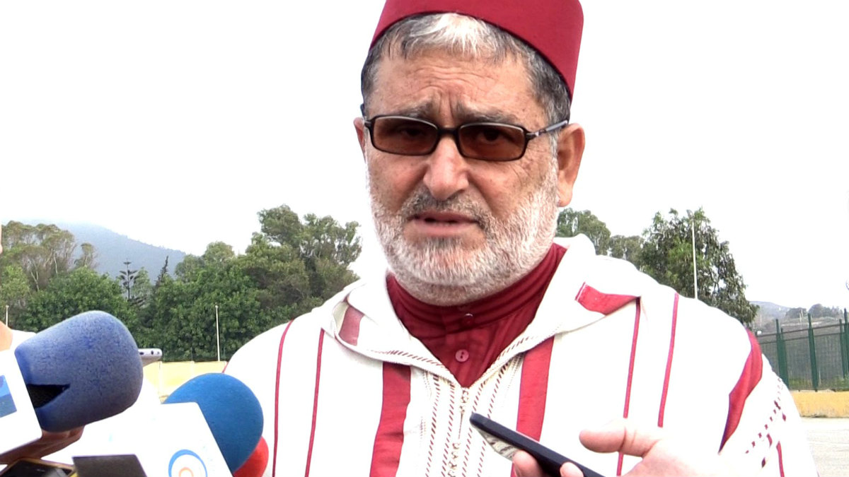 Laarbi Maateis, presidente de la Unión de Comunidades Islámicas de Ceuta (Ucidce).