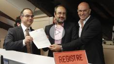 Antonio Baños anuncia «la desobediencia» si el Constitucional suspende la resolución