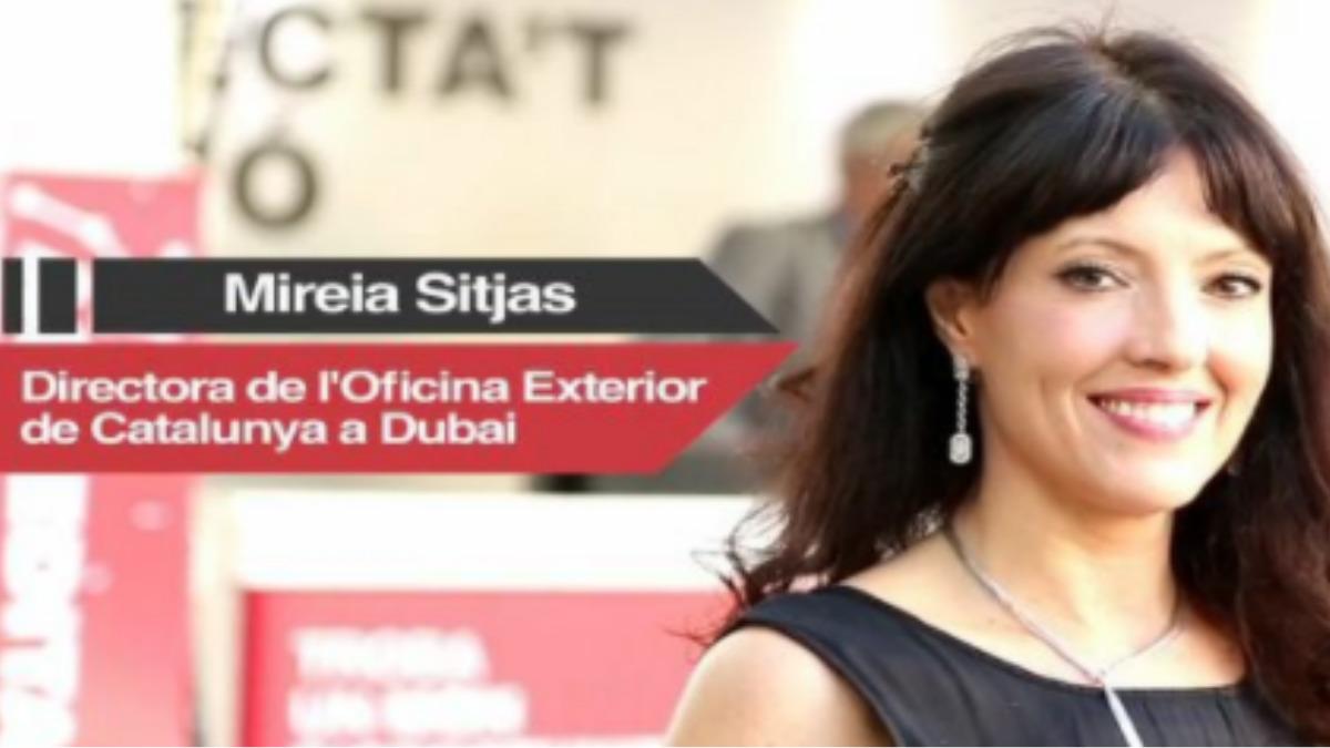 Mireia Sitjas,. directora de la Oficina Exterior de Cataluña en Dubai