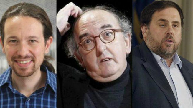 Iglesias y Junqueras perfilaron la censura a Rajoy con Roures, el multimillonario dueño de 'Público'