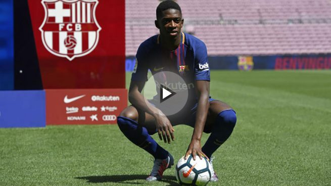 Dembélé: «No estoy aquí para sustituir a Neymar, vengo a aprender»