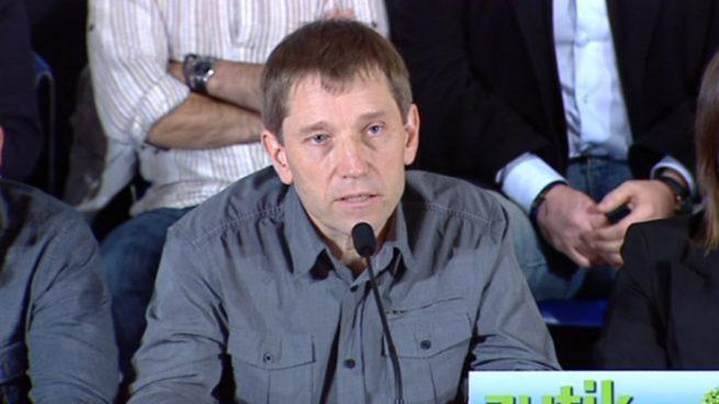 Dos miembros de Sortu, en el congreso de los narcoterroristas de las FARC en Colombia