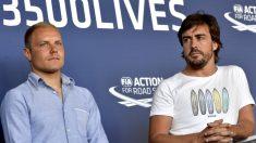La renovación de Bottas por Mercedes es casi un hecho, lo que deja a Alonso sin posibilidad alguna de recalar en el equipo alemán. (Getty)