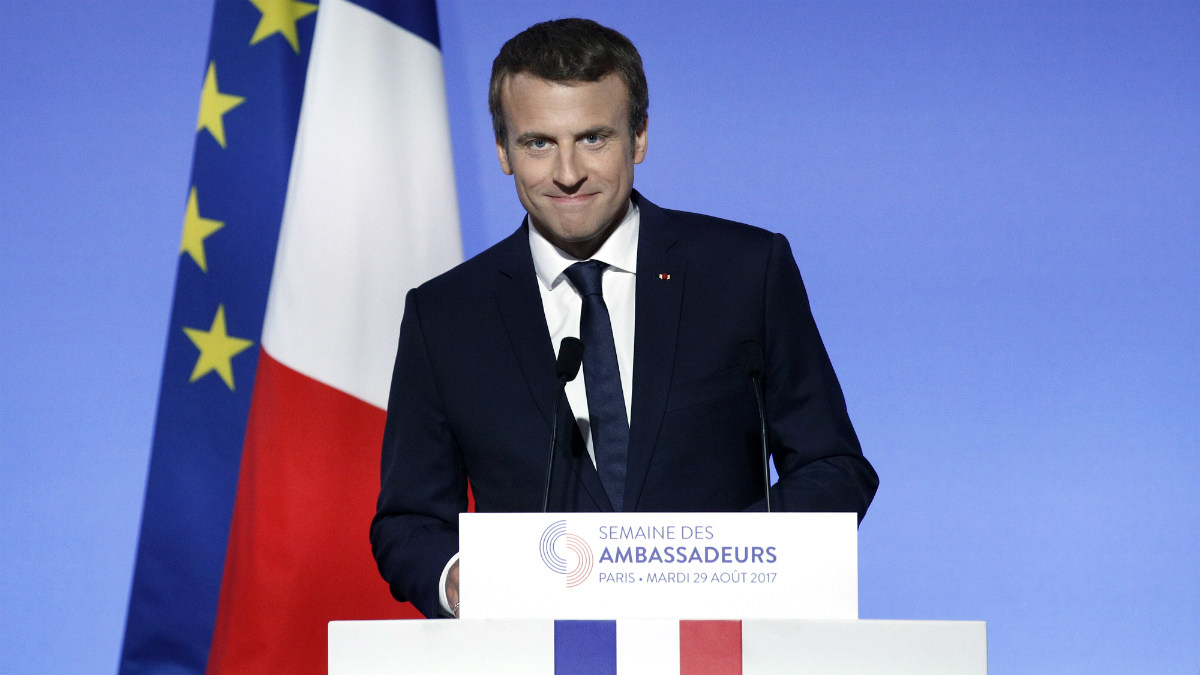 Emmanuel Macron, presidente de la República Francesa. (AFP)