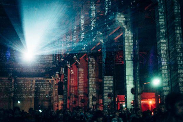 Una de las actuaciones del Berlin Atonal 2017 en Kraftwerk Berlin. Foto: Berlin Atonal