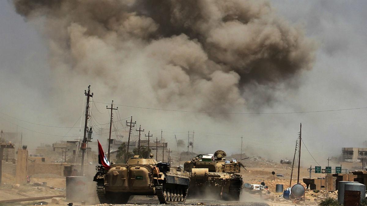Enfrentamientos en Irak (Foto: AFP)