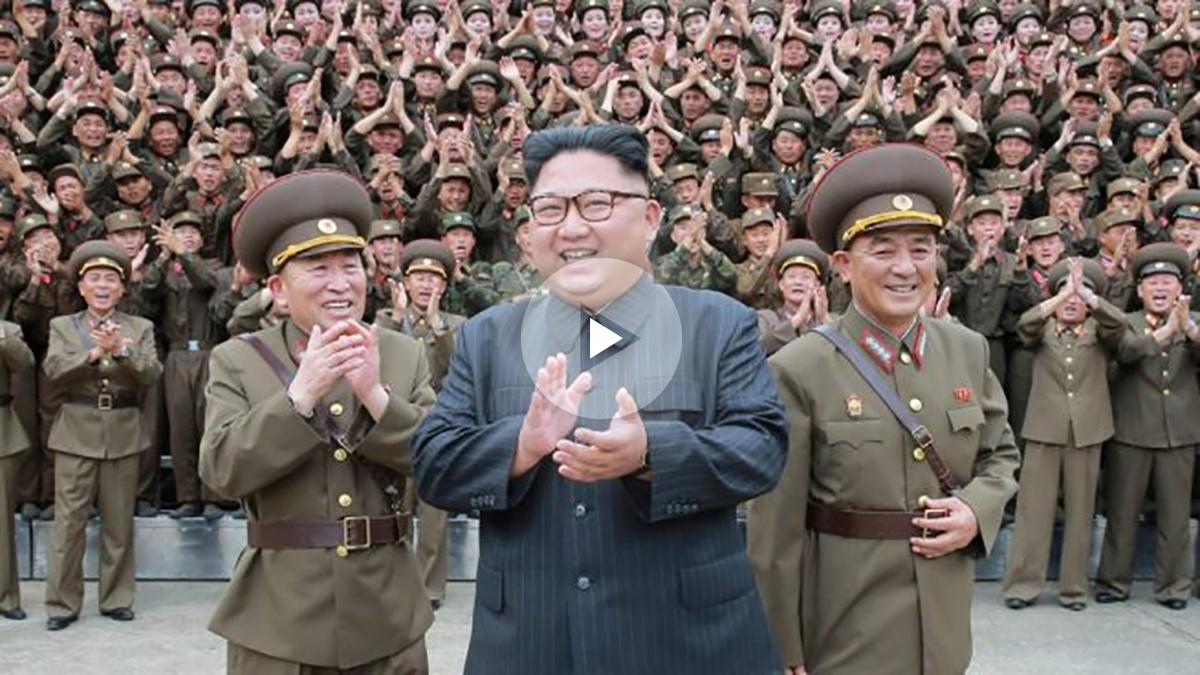 Kim Jong Un, líder de Corea del Norte (Foto. Getty)