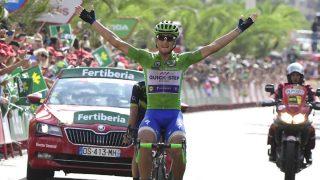 Trentin celebra la victoria ante Rojas. (AFP)