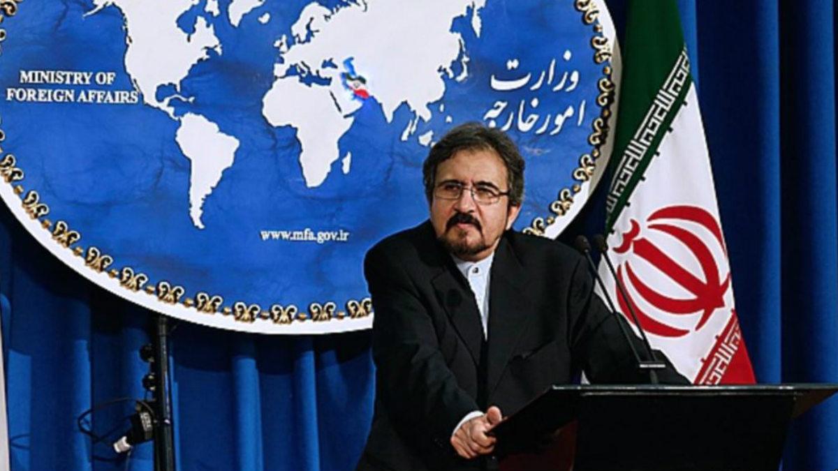 Bahram Ghasemi, portavoz del Ministerio de Asuntos Exteriores de Irán.