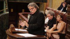 Joan Tardà en el Congreso. (Foto: Francisco Toledo)