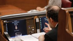 Mariano Rajoy en el Congreso.