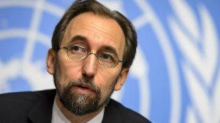 Zeid Raad al Hussein, Alto Comisionado de Naciones Unidas para los Derechos Humanos.