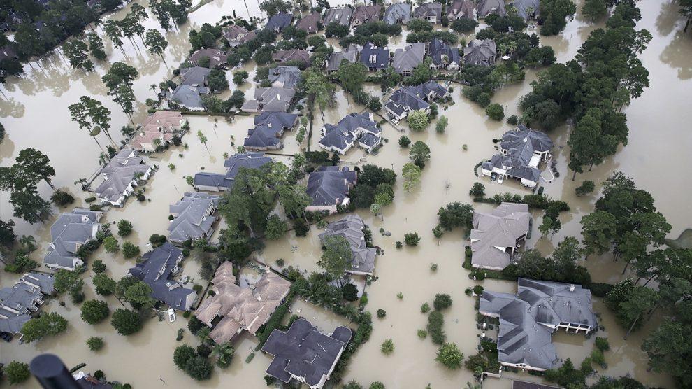 Houston (Texas) tras el huracán 'Harvey'. (Foto: AFP)