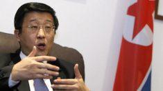 Kim Hyok-chol, embajador de Corea del Norte en España.