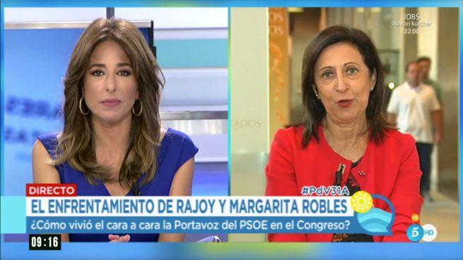 Margarita Robles en 'El programa del verano'.