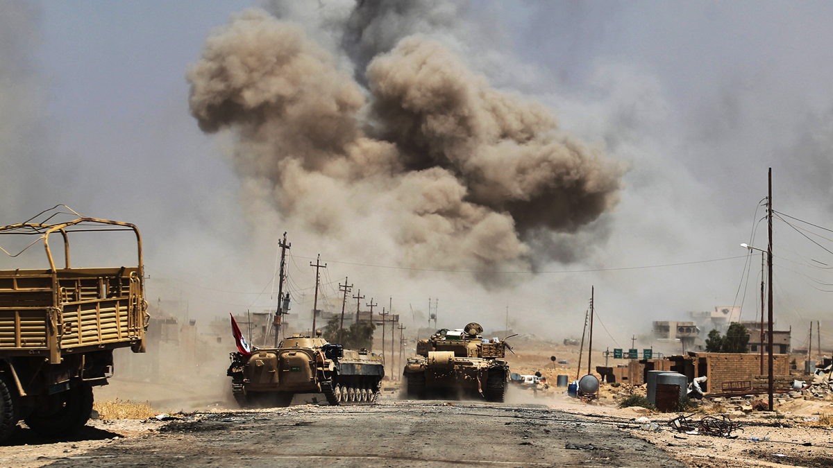 Enfrentamientos en Tal Afar. (Foto: AFP)