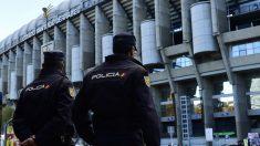 La Policía blindará el Santiago Bernabéu. (AFP)