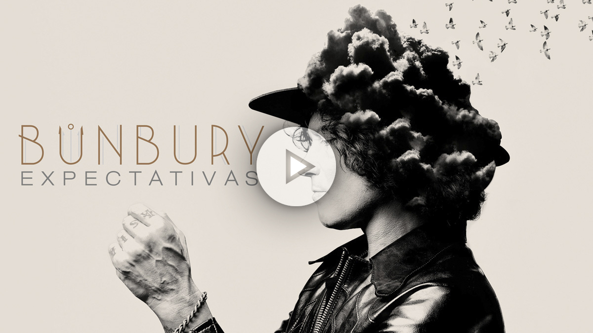 Portada de 'Expectativas', el nuevo disco de Enrique Bunbury.