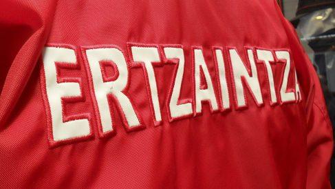 Detalle del uniforme de la Ertzaintza.