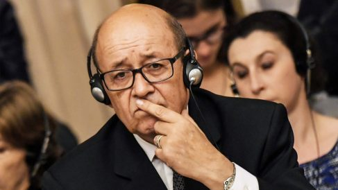 Jean-Yves Le Drian. (Foto: AFP)
