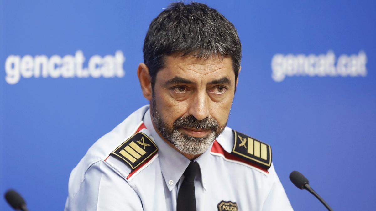 El ex mayor de los Mossos Josep Lluís Trapero. (Foto: EFE)