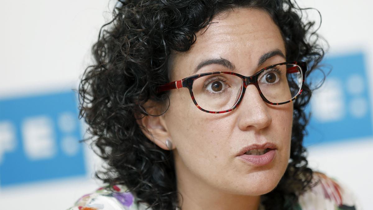 Marta Rovira, de ERC (Foto: EFE)