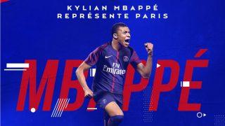Mbappé, nuevo jugador del PSG. (PSG)